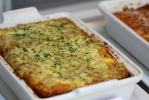 Potato and Cheese Strata