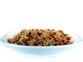 Bread Stuffing - Bacon & Apple