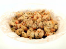 Bread Stuffing - Sausage, Dried Apricots, & Chestnuts