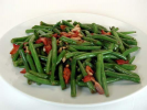Green Beans with Bacon and Almonds