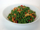 Peas and Turnips with Bacon