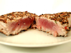 Pepper Crusted Ahi Tuna