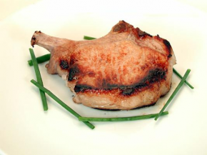 Pork Chops in a Cider Brine