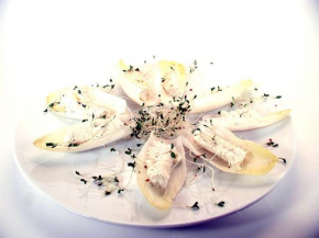 Endive with Herb Cheese