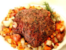 Roasted Leg of Lamb with Vegetables