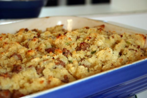 Corn Bread Stuffing with Sausage