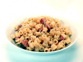 Pasta Carbonara with Pancetta