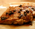 Chicken Paillard with Capers