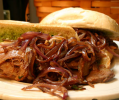 Brisket Sandwich with Onion Jam