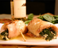 Tilapia Stuffed with Spinach & Feta