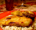 Curried Chicken Breasts with Chutney