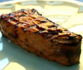 Grilled Salmon with a Ketchup Tarragon Sauce