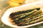 Asparagus with Sesame Chili Vinaigrette