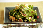 Spinach Salad with Mushrooms and Bacon