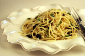 Pasta with Basil and Lemon