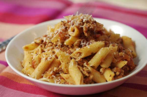 Simple Pasta Sauce with Ground Pork