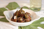 Figs Stuffed with Goat Cheese wrapped in Bacon
