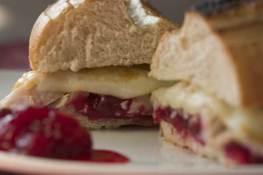 Turkey Cranberry Cheese Sandwich