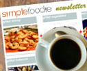 SimpleFoodie Newsletter Signup