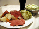 Corned Beef with Cabbage